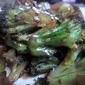 Hoison Sauce Broiled Broccoli