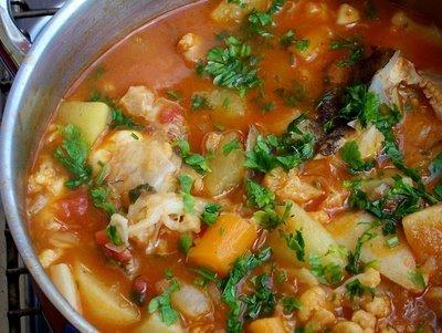 caldeirada zuppa di pesce dell algarve cucina portoghese