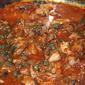 Farfalle Pasta with Sardines in Tomato Sauce