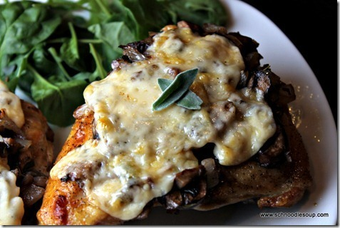 Split Chicken Breasts With Mushrooms Onions And Sage Recipe By Schnoodle Cookeatshare