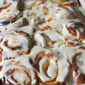 Sticky Orange [or Lemon] Rolls with Orange [Lemon] Cream Cheese Glaze