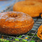 Pumpkin Spice Donuts: Fiber-Full, Vegan and Gluten Free