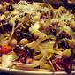 Arugala, Chick-peas, Sausage & Spaghetti!!!