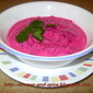Beetroot raita (Beetroot Yogurt mix)