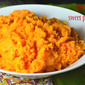 Simple Mashed Sweet Potatoes