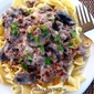 Hamburger Stroganoff - A super quick and easy meal!