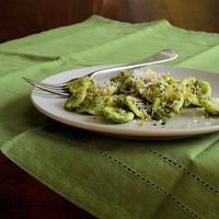 How to Choose a Pasta Shape- Orecchiette with Creamy Broccolini & Rapini Sauce