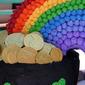 Pot-O'-Gold-Rainbow Cake