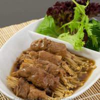 Japanese Enoki Beef Rolls