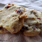 Soft & Chewy Cranberry Walnut Cookies