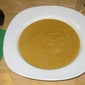 Roasted Pumpkin Soup with Pumpernickel Croutons