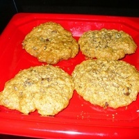 Oatmeal, Chocolate Chip and Raisin Cookies