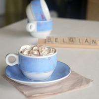 Belgian hot chocolate drink