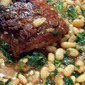 Tuscan Pork and Beans