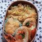鶏肉の野菜巻き弁当
