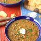 Hearty Lentil & Black Bean Soup with Smoked Paprika Recipe {Giveaway}
