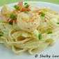 Linguine with Shrimp in Saffron Cream Sauce