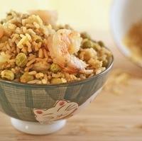 Thanksgiving leftovers: Easy Shrimp Fried Rice