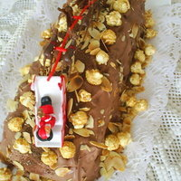 CHOCOLATE yule log CAKE ... easy - delicious