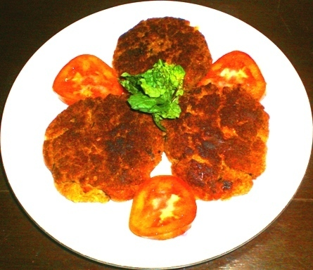 SHAMI KABAB (BURGER WITH SPICES)