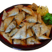 GREEK TRIAGLE PUFFS (TYROPITAS)