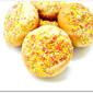 Rainbow Sugar Balls Butter Cookies