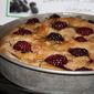 Blackberry Rosemary Wheat Focaccia