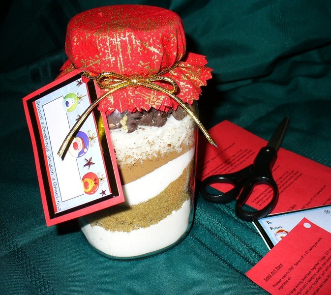 Sand Art Cake Mix : Sand Art Bars (Brownie Mix in a Jar: Holiday Gift Idea ...