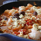 Baked Shrimp with Feta and Tomatoes - a guest post by Aggie's Kitchen