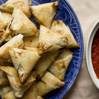 Get Your Party On With Baked Crab Samosas