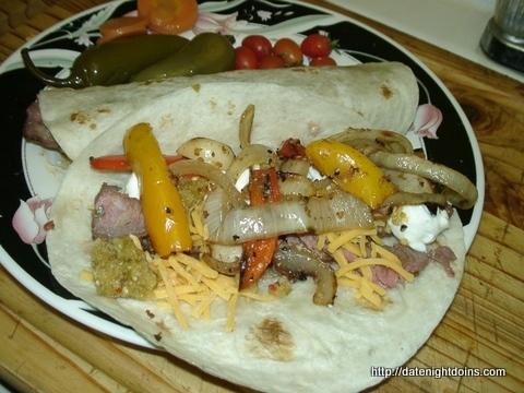 Sirloin Soft Tacos