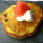 Holiday Apps: Leek Fritters w/ Smoked Salmon & Creme Fraiche