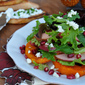 Roasted Butternut Squash and Apple Salad with Cranberry Vinaigrette Recipe
