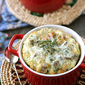 Make-Ahead Baked Eggs with Bacon, Mushrooms & Sage Recipe