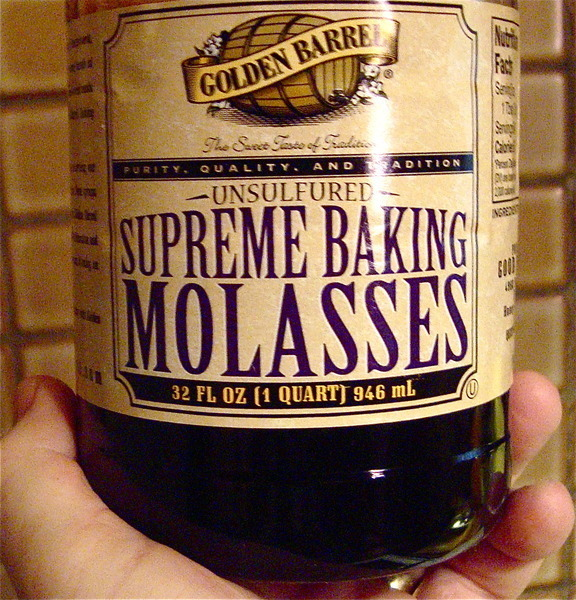 Uncle Amos' Molasses Cookies