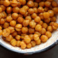 Spiced Roasted Chickpeas - Perfect Holiday Hors d'Oeuvre