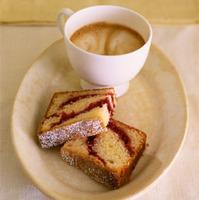 Cranberry Sour Cream Coffee Cake