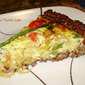 Red Rice Crusted Quiche