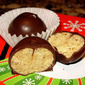 Spicy Chocolate Dipped Peanut Butter Balls