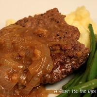 Salisbury Steak with Onion Gravy -- A Ratatouille Moment