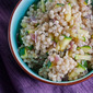 Warm Couscous Salad with Feta and Mint