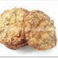 Eggless Orange,White Chocolate & Oats Cookies