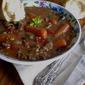 Porcini/Cremini Mushroom Beef Barley Stew - Crock Pot