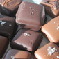 Chocolate-Covered Vanilla Caramels With Sea Salt
