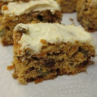 Carrot Cake (butter and sugar free)