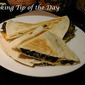 Recipe: Spinach and Black Bean Quesadillas