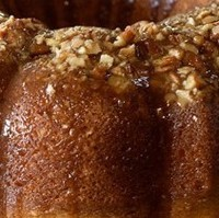 Bacardi Rum Cake - only for serious Rum Cake eaters!