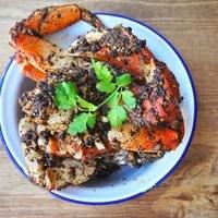 Singapore Black Pepper Crabs