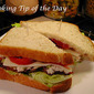 Recipe: Tuna Salad Bacon Lettuce and Tomato Sandwich