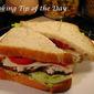 Recipe: Tuna Salad Bacon Lettuce and Tomato Sandwich